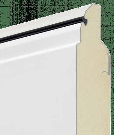 Толщина панели 42 мм с заполнением пенополиуретаном