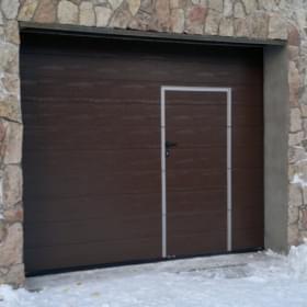 Гаражные ворота 5000×2250
