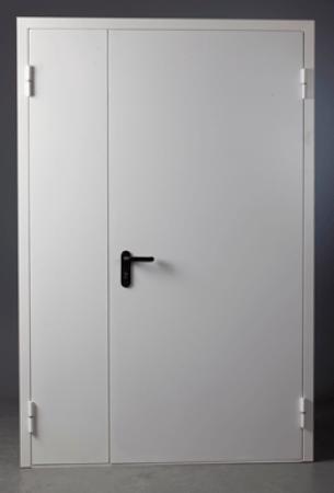 Дверь противопожарная металлическая дымогазонепроницаемая 800х2100